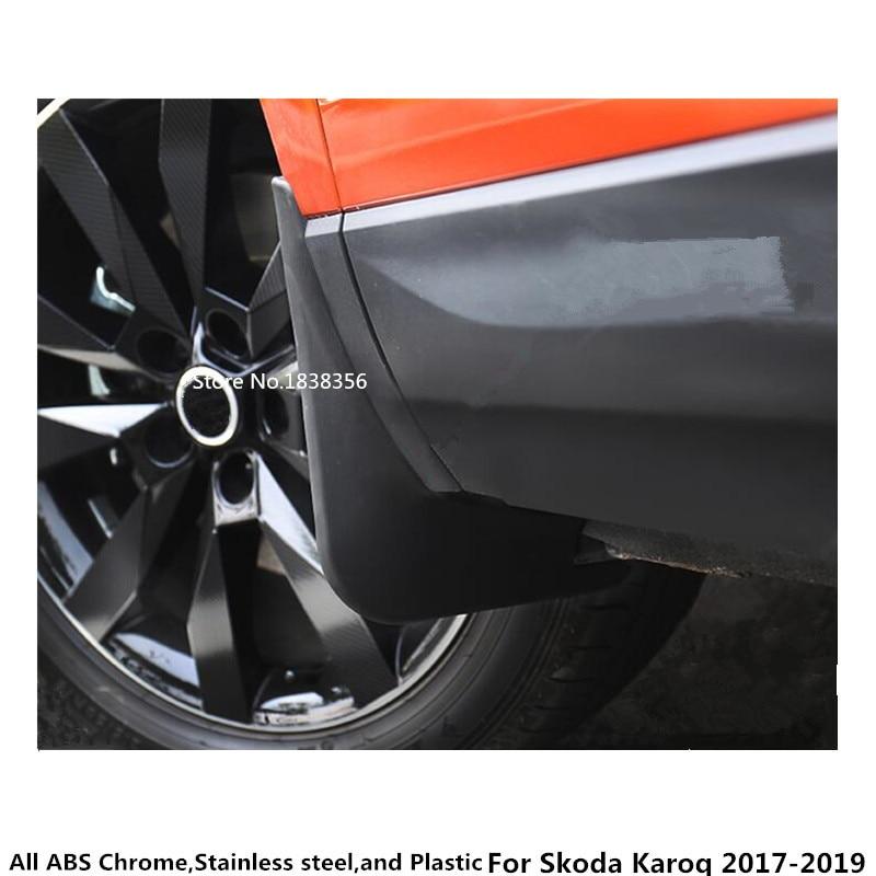 Ultra Soft Car Fender Covers: For Skoda Karoq 2017 2018 2019 Car Styling Body Cover