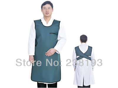 x-ray 0.5mmpb one-faced softer and lighter than common material customized  lead rubber protection apron without collar