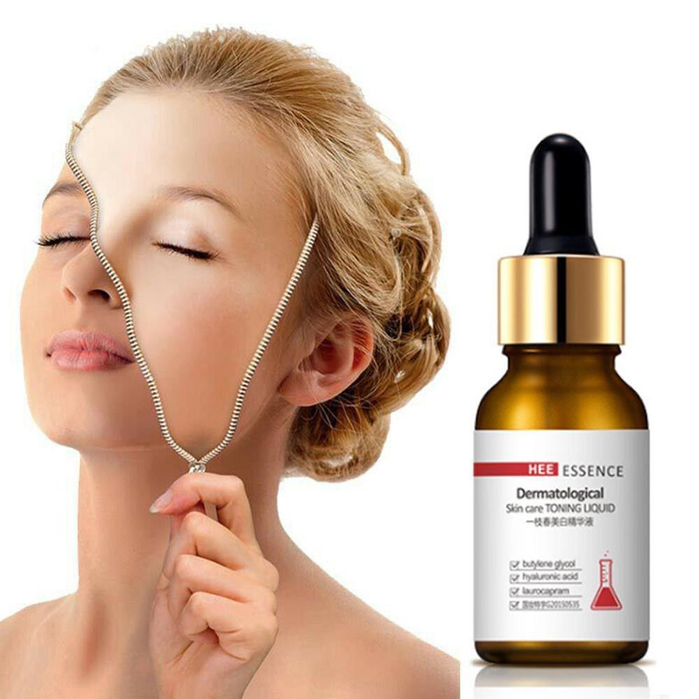 Anti Aging Face Skin Care 30ml Hyaluronic Acid Vitamin C Essence Retinol Serum Whitening Moisturizing Facial Essence