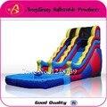 Lâmina de água, Bom presente para crianças, Lotes de diversão, Inflável slides, Trampolim