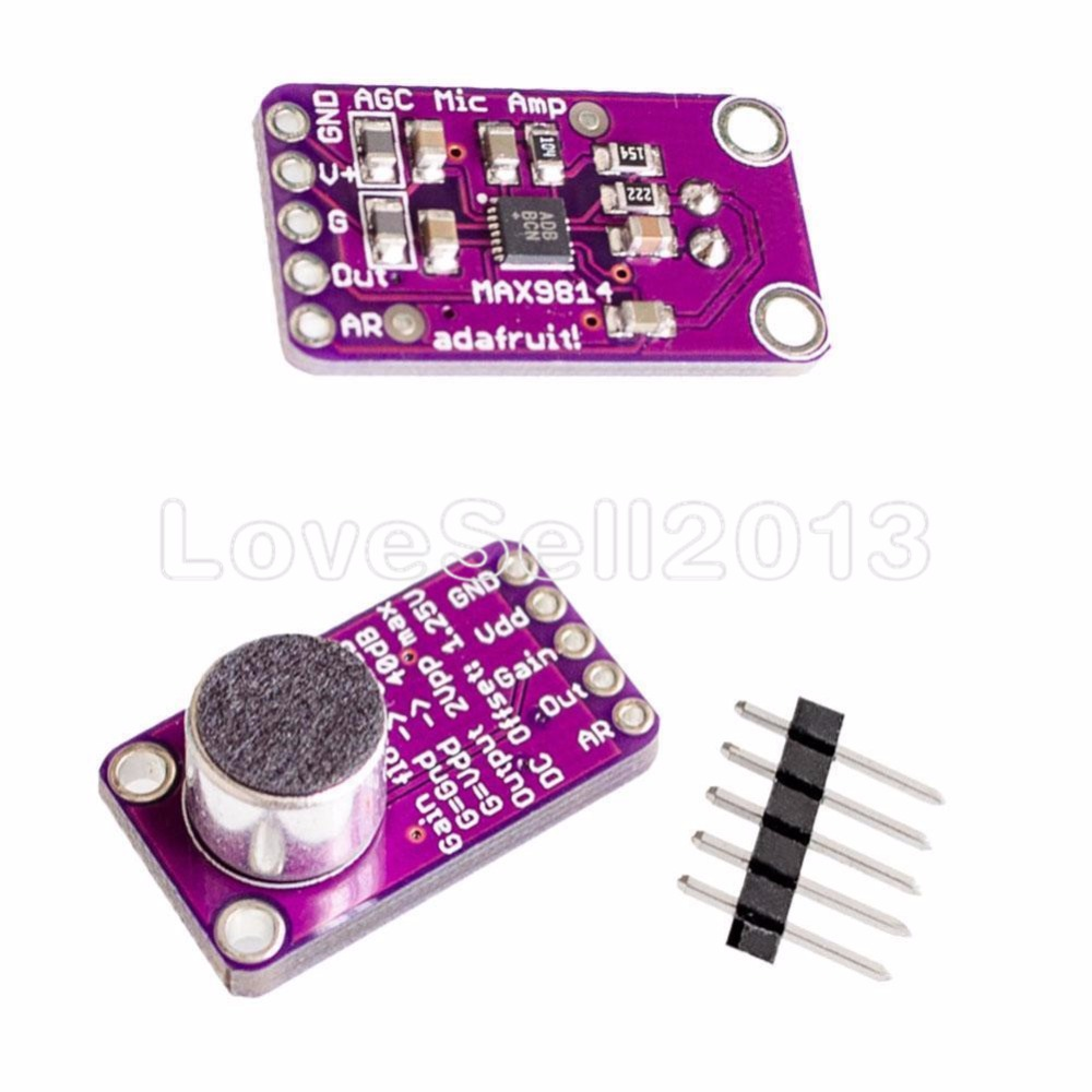 Max9814 Microphone Agc Amplifier Board Module Auto Gain Control For Details About Pcb Printed Circuit Repair 02ml Silver Conductive Paste Arduino Programmable Attack And Release Ratio Low Thd In Replacement Parts Accessories