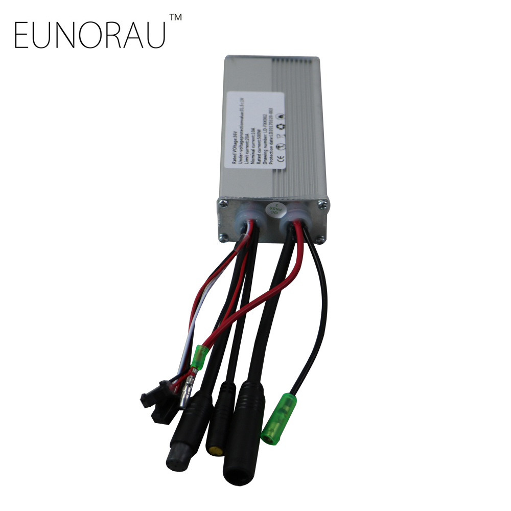 Free shipping 36V20A sin-wave controller for ENA 36V500W front/rear hub motor kit цена