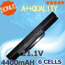 4400mah Laptop Battery for Asus X43 X44 X53 X54 X84 X53SV X53U X53B X54H A32 K53 A42-K53 A31-K53 A41-K53 A43 A53 K43 K53 K53S стоимость
