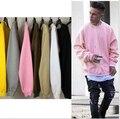 Justin Bieber 2017 Boa Qualidade Hip Hop Hoodies Homens Kanye West Moletons Streetwear Fleece Outono Estilo Casaco Com Capuz Sólida