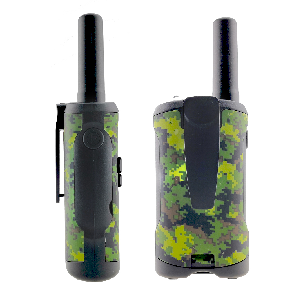 Image 2 - 2 Way Kids Walkie Talkies Range up to 6km 8/20/22CH FRS/GMRS 400 470MHZ Mini Radio Toys Walkie Talkie Children Intercom Gifts-in Walkie Talkie from Cellphones & Telecommunications