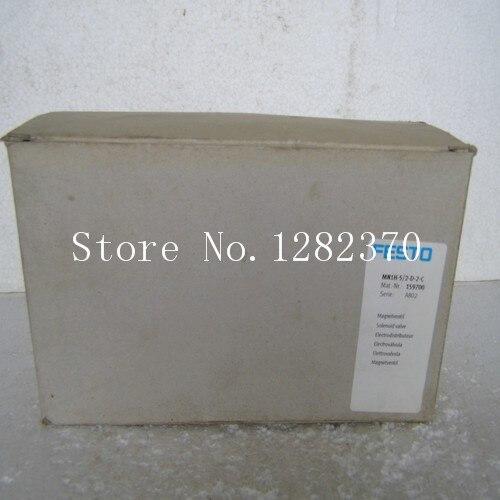 [SA] New original authentic special sales FESTO solenoid valve MN1H-5/2-D-2-C spot 159700 [sa] new original authentic special sales festo solenoid valve vl 5 3g d 2 c spot 151848