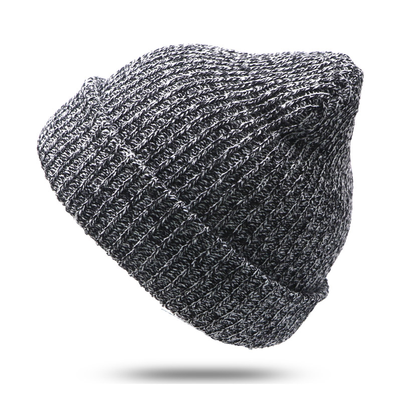Winter Hat Casual Women's Knitted Hats For Men Baggy Beanie Hat Crochet Slouchy Oversized Ski Caps Warm Skullies Toucas Gorros winter casual cotton knit hats for women men baggy beanie hat crochet slouchy oversized ski cap warm skullies toucas gorros 448e