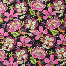 150CM Width big flower Printed VB fabric 100 cotton patchwork fabric wholesale meter for handmade bags