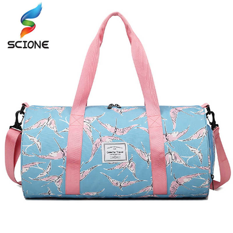 b4bc36fbbfe1 ... Special Hot Outdoor Waterproof Nylon Sports Gym Bags Men Women Training  Fitness Travel Handbag Yoga Mat ...