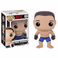 New Funko pop Official UFC: Chris Weidman Boxer Fighter Action Figure Collectible Vinyl Figure Model Toy with Original box