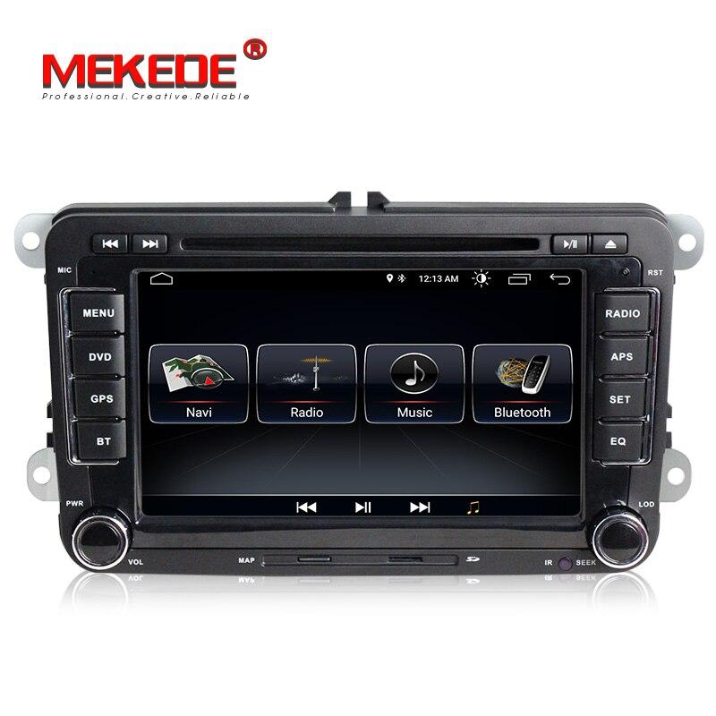 Spedizione gratuita! Android8.0 7 pollici 2din Auto lettore DVD GPS per Skoda Octavia/Fabia/Rapid/Yeti/Superb/ VW/Seat navi multimedia radio