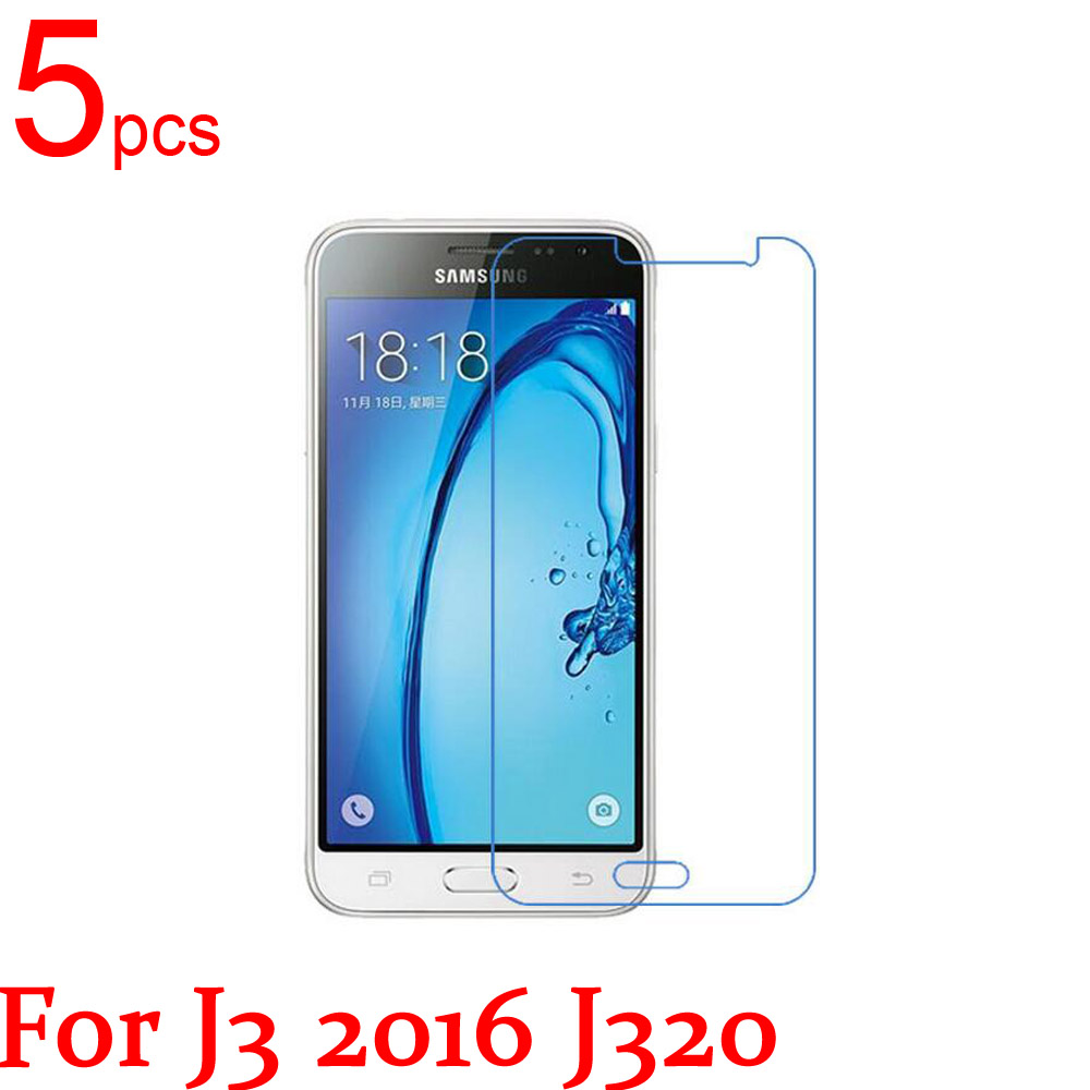 5pcs Ultra Clear/Matte/Nano LCD Screen Protector Film Cover For Samsung Galaxy J1 J2 J3 J5 J7 2016 J120F J210F J510F J710F J320F