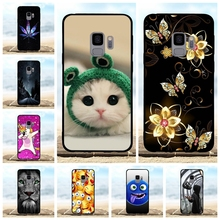 For Samsung Galaxy S9 Case Soft TPU Silicone G960F G960U Cover Cartoon Pattern Shell