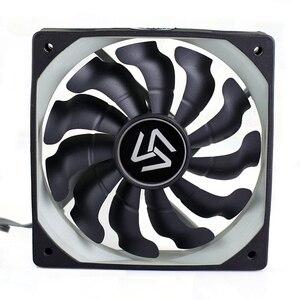 Вентилятор для компьютера 120 мм, 3 шт., радиатор 1200 об/мин, 3 pin, 12 В, чехол для компьютера, кулер для процессора, охлаждение для ALSEYE