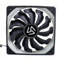 3pieces Computer Fan 120mm Radiator 1200RPM 3 Pin 12v Fan For Computer Case And Cpu Cooler
