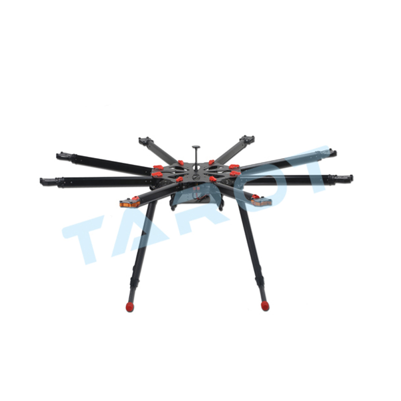 carbon fiber tarot x8 carbon octocopter frame kit octocopter drone frame parts set diy drone accessories