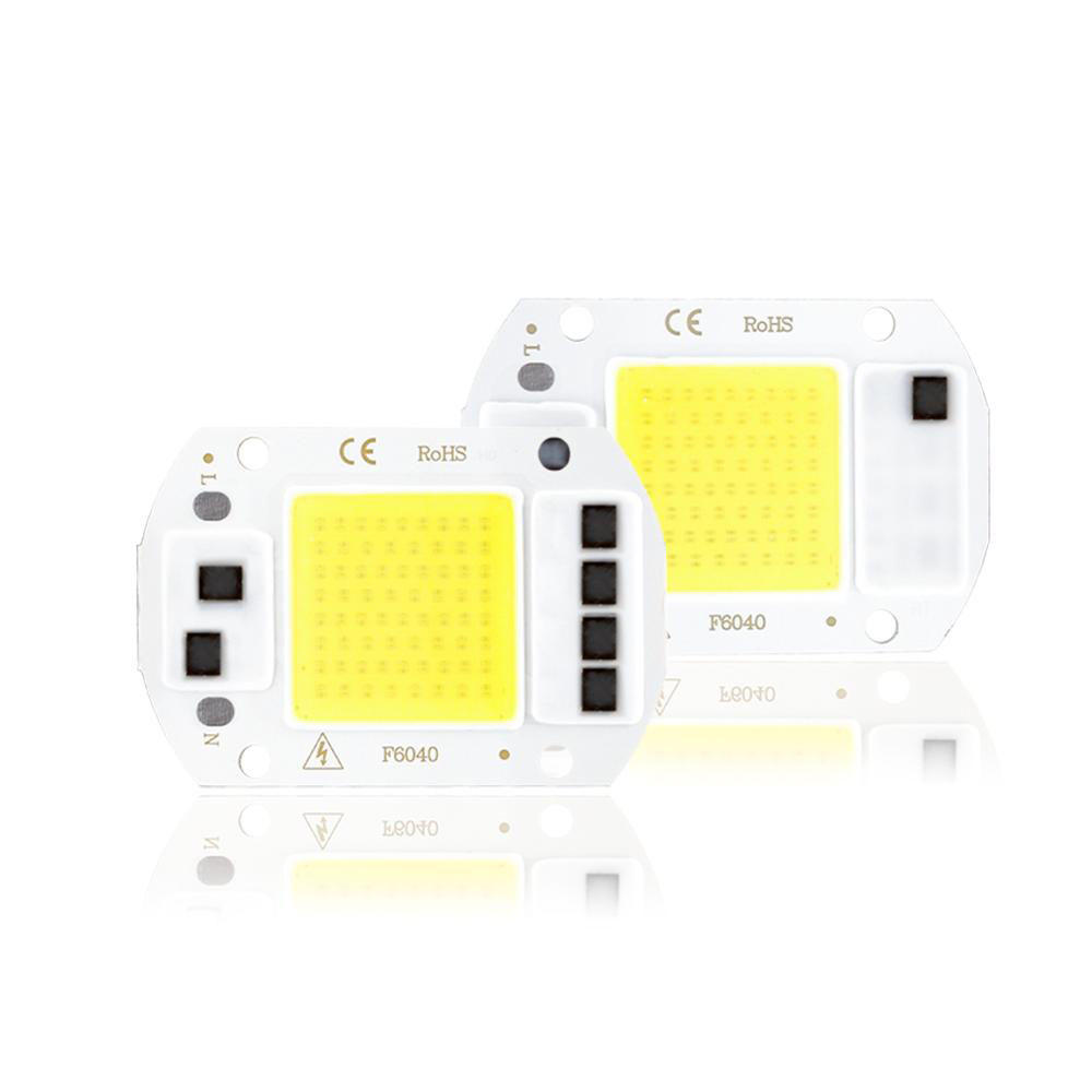 LED COB Chip Smart IC 3W 5W 7W 10W 20W 50W 70W 100W 150W Integrated 110V 220v Floodlight No Need Drive DIY Light Bead Spotlight
