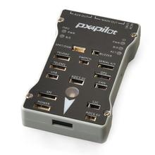 Px4 PIX 2.4.8 32 Bit controlador de vuelo integrar PX4FMU PX4IO interruptor de seguridad zumbador 4 G SD para DIY Drone RC FPV Multirotor F17282