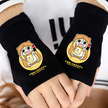 Anime  Himouto! Umaru-chan Half FingerCotton Knitting Gloves Without Fingers Mitten Lovers Cosplay Warm Accessories Gifts Hot