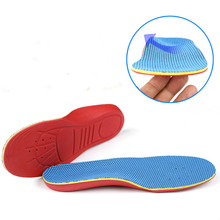 Children Inside Outside Eight Foot Valgus Orthopedic Insole O-x Leg Orthotics Insoles Flat Feet Shoes Accessories Arch Support