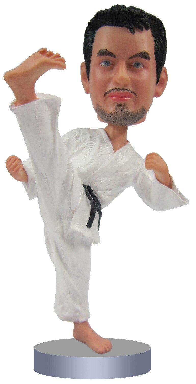 Bambola bambolina personalizzata di Sport ragazzo regalo di nozze decorazione di cerimonia nuziale di nozze corpo poliresina fisso + testa poliresina