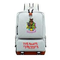 Cartoon Five Nights At Freddy's Kids Backpacks Freddy FNAF Shoulders Bag Mochila Children Travel Bag School Bag Teenage