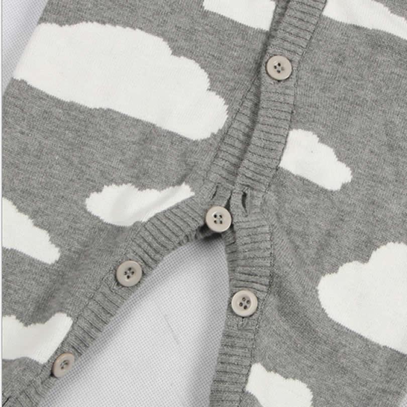 Otoño / Invierno Ropa para bebé de una sola pieza Nubes lindas - Ropa de bebé - foto 6