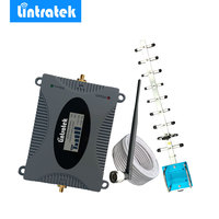Lintratek LCD Display 3G Mobile Signal Repeater Booster Amplifier UMTS 2100MHz Band 1 W CDMA Cell
