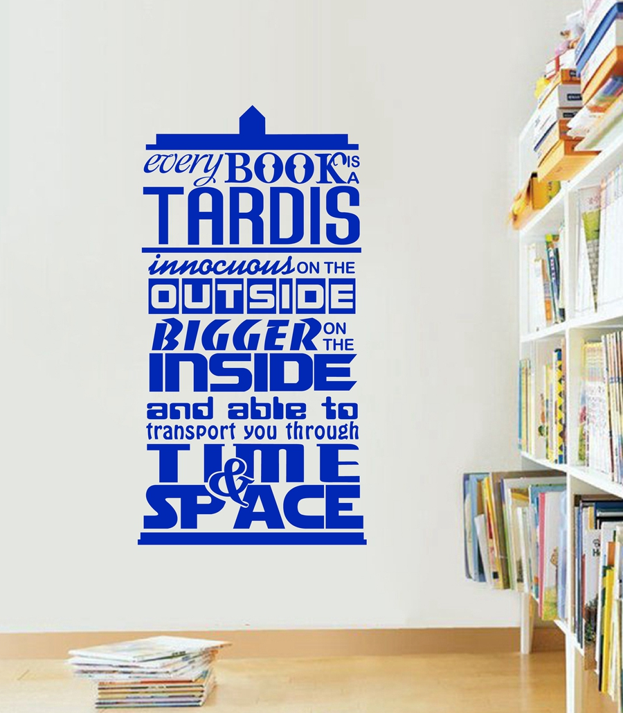 Aliexpress.com : Buy Doctor Who Inspired Quote Vinyl Wall Sticker  Part 43