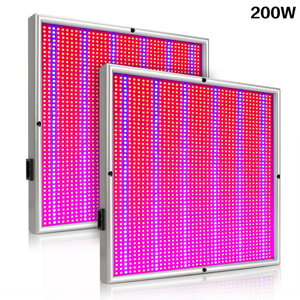 2pcs lot 200W 400W 600W 800W Led Grow Light Full Spectrum Flowering Growth Plant Lamp for indoor hydroponic greenhouse wholesale in LED Grow Lights from Lights Lighting