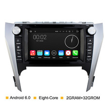 "8 ""HD 1024*600 Screen Android 6.0 Acht Kern 2G Ram Für Toyota Camry 2012 2013 2014 Auto DVD-Player Radio GPS Navigation"