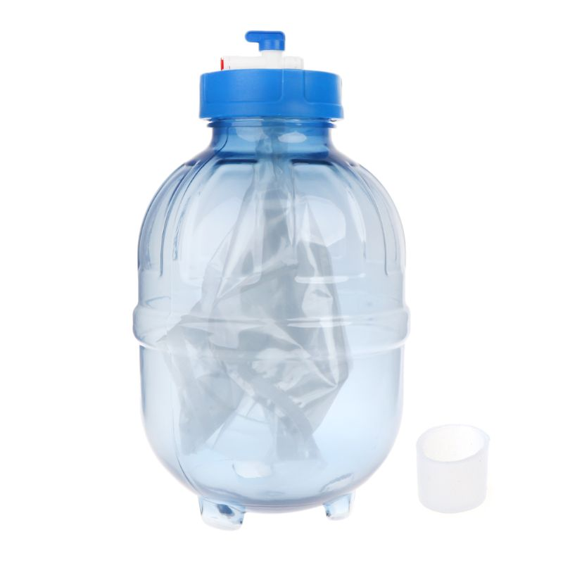 3 2 Gallon Transparent Plastic Water Storage Tank For Reverse Osmosis Water Filter Parts