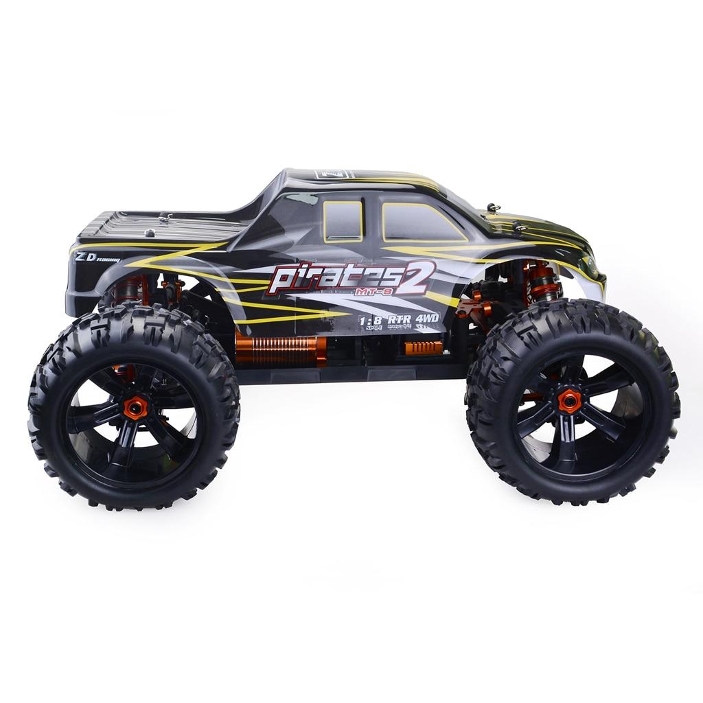 ZD Racing 9116-V3 120A ESC Brushless Monster Truck Full-Escala Pequena À Prova D' Água Verdadeiro Carro De Corrida Da Liga 6061 Quadro DIY kit Versão