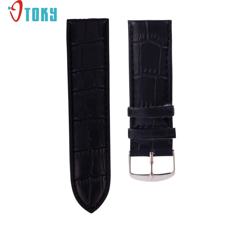SUNWARD Hot Unique   16mm High Quality Soft Sweatband Leather Strap Steel Buckle Wrist Watch Band Drop ship F20 high quality soft sweatband leather strap steel buckle wrist watch band 3522 brand new luxury free shipping
