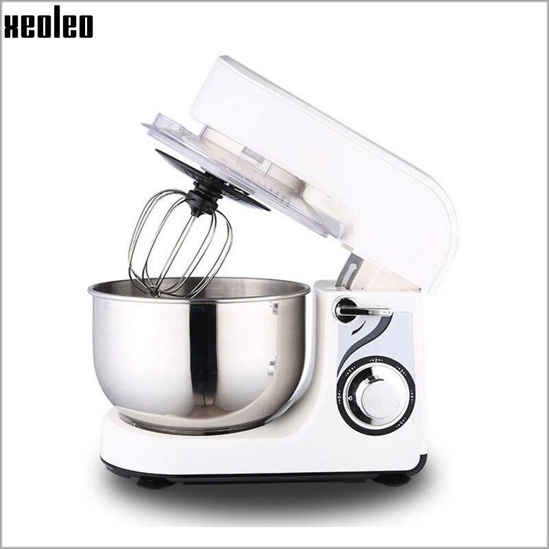 Xeoleo 3.5L Food mixer Dough mixer Stand mixer Household Egg beater Tilt head design 600W 220V/50hz 5 Speeds adjustable