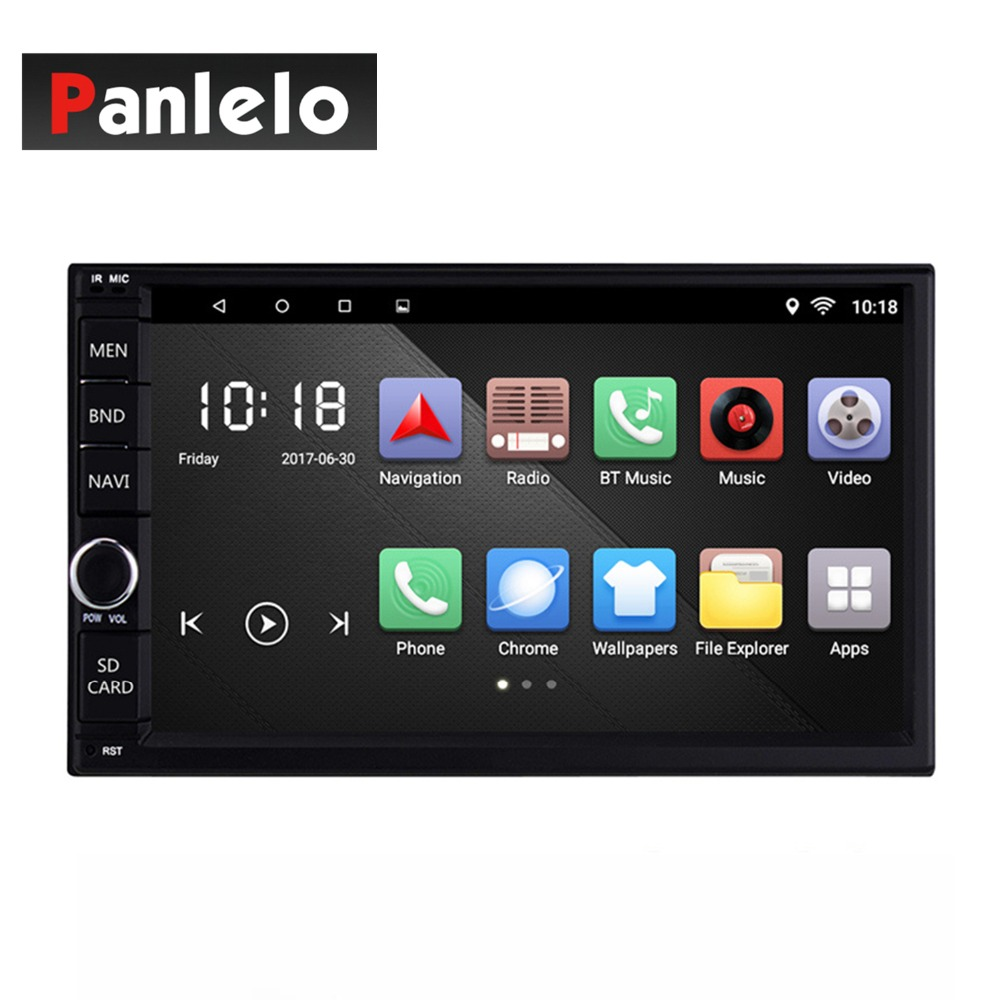 купить Android 6.0 Car Stereo 2 Din Quad Core Head Unit 7'' 1GB/2GB Car Radio Touch Screen Bluetooth Wifi AM/FM/RDS Car GPS Navigation по цене 6655.15 рублей