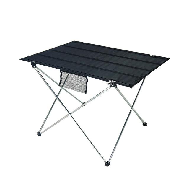 סגסוגת אלומיניום קל במיוחד מתקפל שולחן שולחן קטן גודל נייד מתקפל שולחן מתקפל שולחן קמפינג חיצוני פיקניק