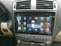 Chogath Автомобильный мультимедийный плеер 4 ядра Android 8,0 автомобилей Радио gps навигации для Lexus IS250 IS200 IS220 IS300 2006 2012