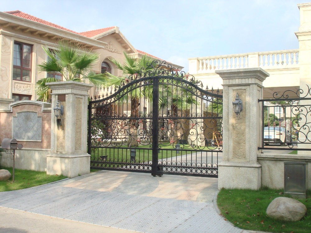 Metal Entrance Gates Outdoor Gate Driveway Gate Prices