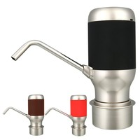 Беспроводной Электрический автоматический питьевой насос для бутыля с водой с USB Перезаряжаемый умный дозатор питьевой воды