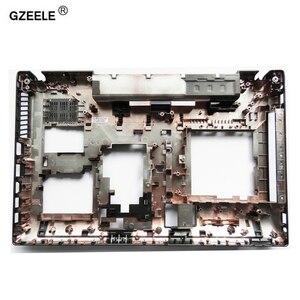 Image 2 - GZEELE جديد محمول أسفل الغطاء الخلفي لينوفو N580 N585 P580 P585 أسفل الحال 90201009 AP0QN000310 دفتر أسفل D قذيفة جديد