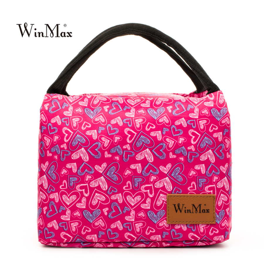 2018 Winmax Brand Cooler Icepack Box Food Fresh Keep Lunch Bags Women Fashion Thermal Insulated Container Waterproof Cooler Bags
