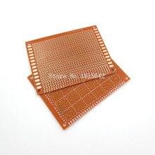 5 шт./лот DIY Прототип бумага PCB Универсальный Эксперимент Матрица платы 7x9 см 7*9 см