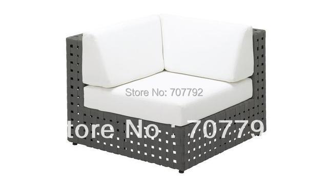 2017 Nuevo producto diseño grueso muebles al aire libre sofá modular ...