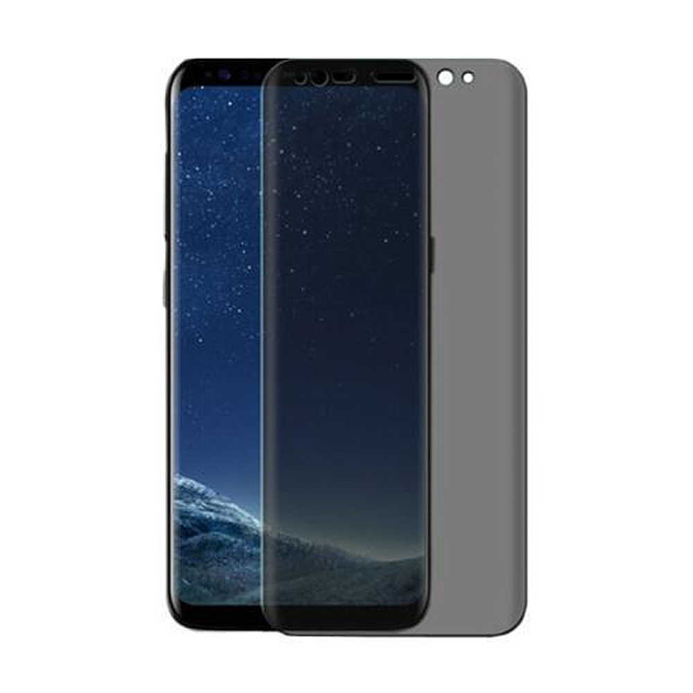 check out 2e9bd 9b1d9 US $2.94 30% OFF Case Fit Glass For Samsung Galaxy S8 S9 Plus S8 Note 8 9  Friendly Privacy 3D Full Cover Screen Protector Anti Spy Tempered Glass-in  ...