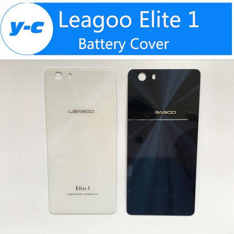 imágenes para Para Leagoo Elite 1 Tapa de La Batería 100% Batería Original Caso de la Cubierta de Reemplazo Para Leagoo Elite1 Teléfono Móvil Inteligente En Stock
