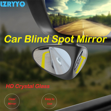 Car Blind Spot Mirror Wide Angle 360 Rotation Adjustable Fixable Convex Rear View font b Parking