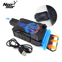 Mini USB Laptop Cooler Air Extracting Exhaust Cooling Fan CPU Cooler For Notebook Computer Hardware Laptop