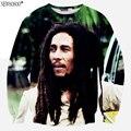 Newsosoo Nuevo diseño Especial hombres sudadera gran Bob Marley 3D impreso sudaderas con capucha hombres y mujeres Hip hop Harajuku Sudadera XS8