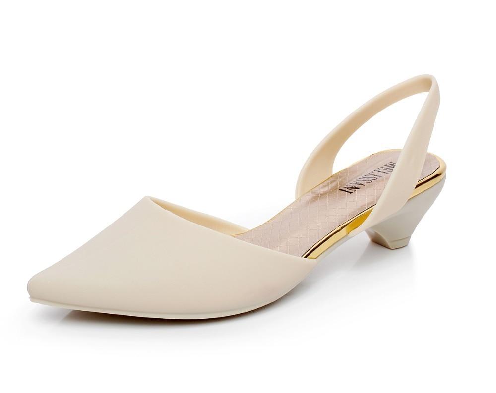 4ed9e95f8ffa  Sole Source  2015 NEW Summer Superb Elegance Women Sandals Foreign Trade Jelly  Shoes Woman Singling Joker Low Heels